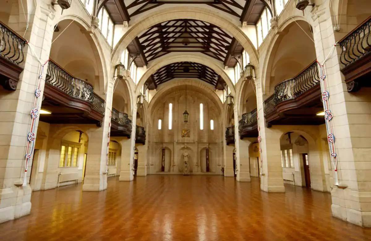 Britannia Royal Naval College Dartmouth   Entrance Hall   Castria Design