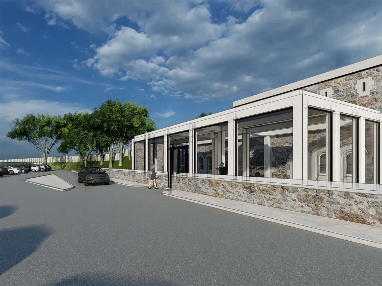 Eggbuckland Keep Fort Plymouth Regeneration | Entrance Building | Castria Design