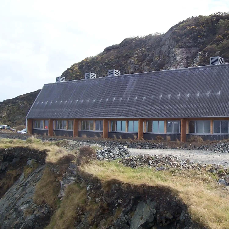 Cornish Sea Salt Factory Cornwall   Exterior Architecture   Castria Design