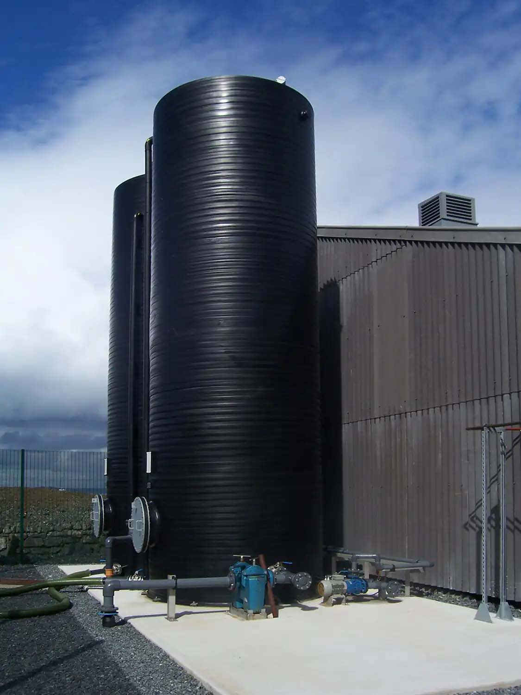 Cornish Sea Salt Factory Cornwall   Water Tank   Castria Design