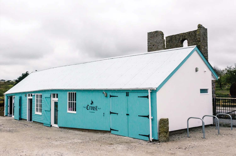 The King Edward Mine Museum Restaurant Barn Exterior   Castria Design