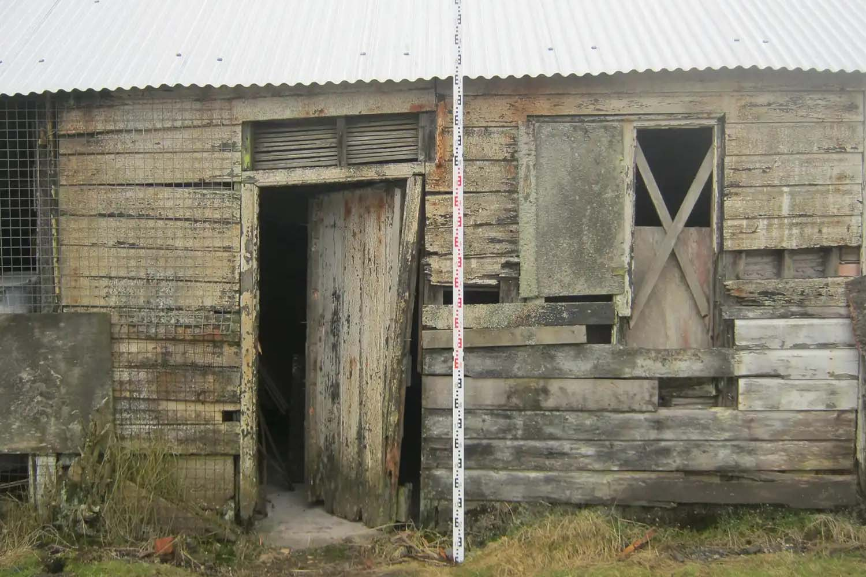 The King Edward Mine Museum Facade Before   Castria Design