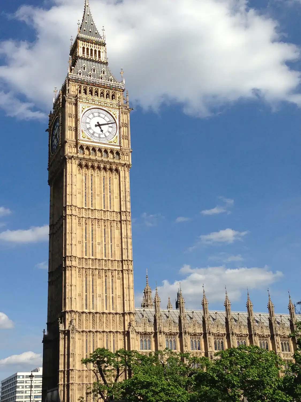 The Palace of Westminster UK Parliament | Exterior Big Ben | Castria Design